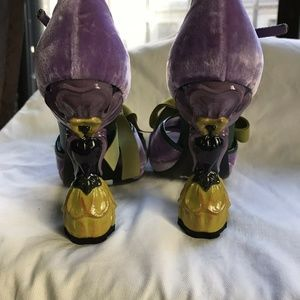 Prada Shoes - PRADA James Jean Fairy Floral High Heels Size 36